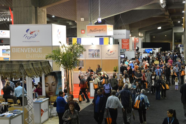 25e dition du salon international tourisme voyages for Salon e tourisme
