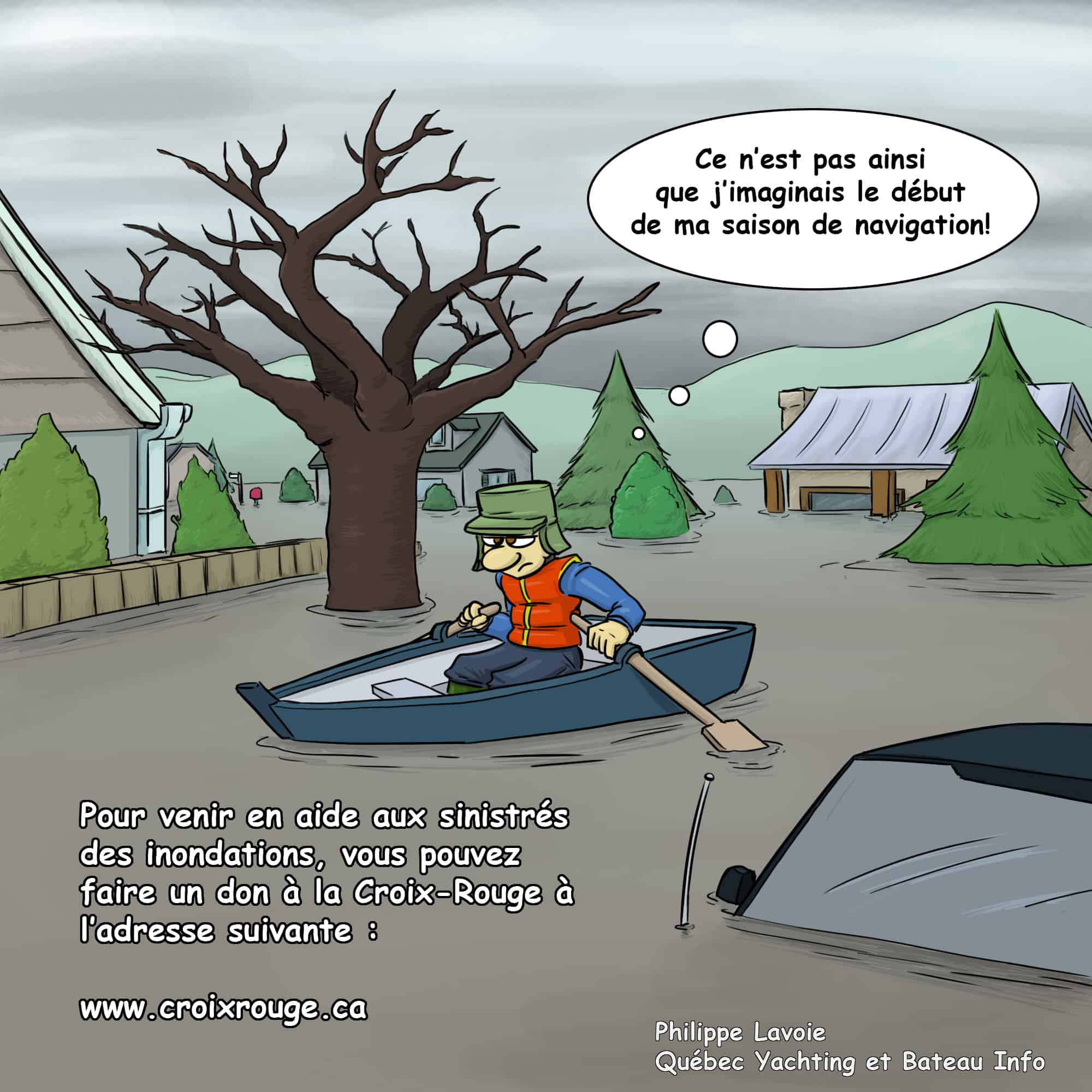 Inondations au quebec - Philippe Lavoie - BI Mai 2017