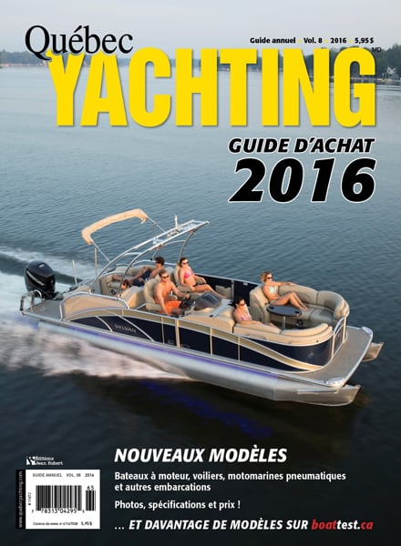 Guide achat 2016 - Quebec Yachting