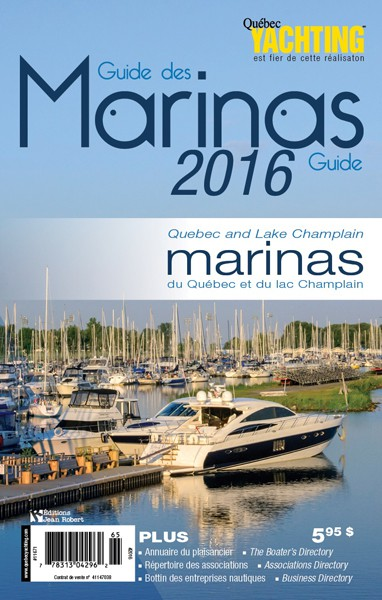 Guide des marinas 2016 - Quebec Yachting