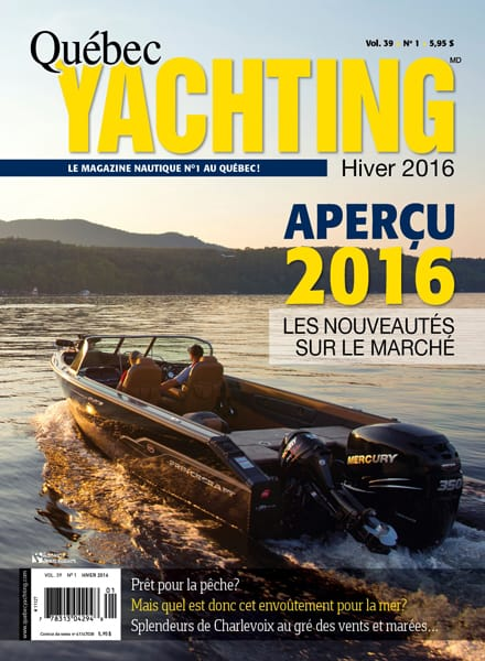Hiver 2016 - Quebec Yachting
