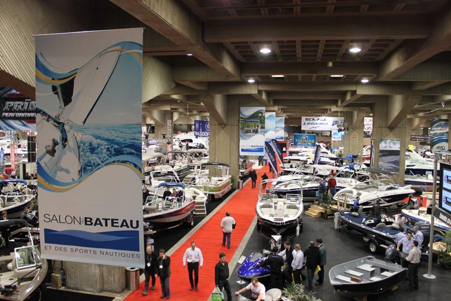 Salon du bateau et des sports nautiques de montr al 2012 for Salon bateau
