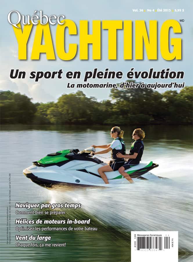 Été 2013 - Québec Yachting