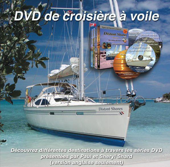 DVD de croisière à voile - Distant Shores