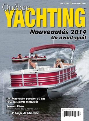 Hiver 2014 - Québec Yachting
