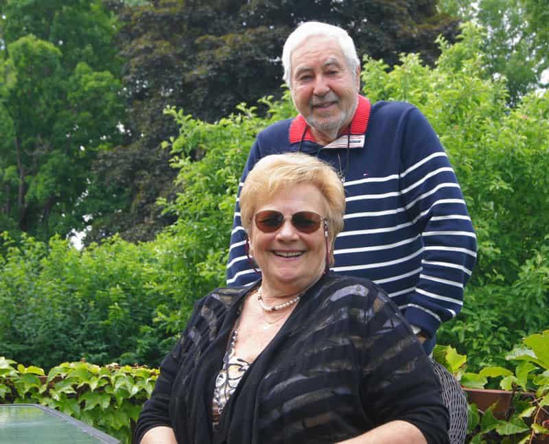 Nicole Gaudreault et André Fleury, du Réseau du capitaine.