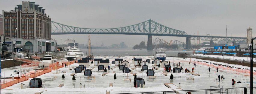 p cher sur la glace au vieux port de montr al pendant l hiver 2015 qu bec yachting. Black Bedroom Furniture Sets. Home Design Ideas