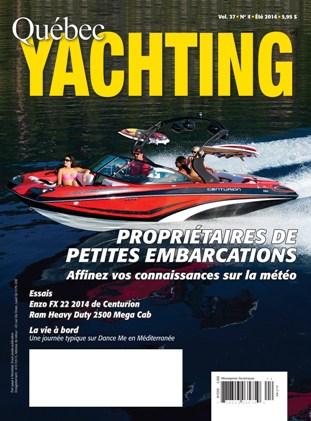 Magazine Été 2014 de Québec Yachting