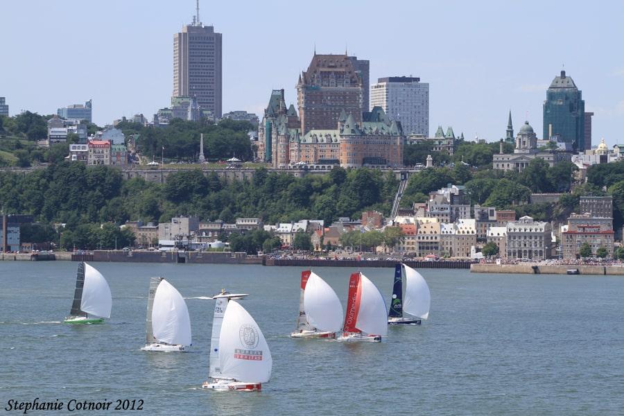 Transat Québec Saint-Malo 2012.