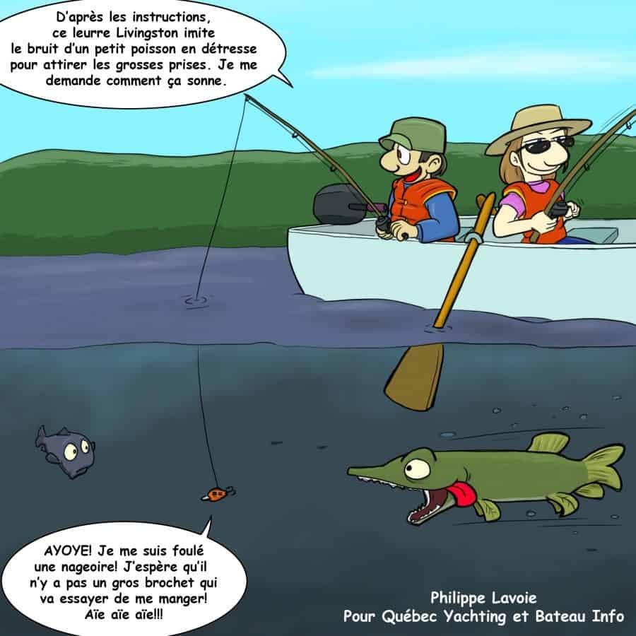Leurre Livingston - poisson - peche - BI Mai 2016 - V2