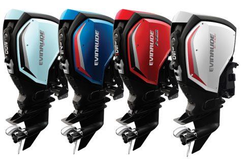 Les nouveaux modèles de la gamme Evinrude E-TEC G2.