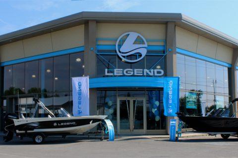 Photo 1 - Ouverture Magasin bateau Legend Sainte-Marthe-sur-le-Lac
