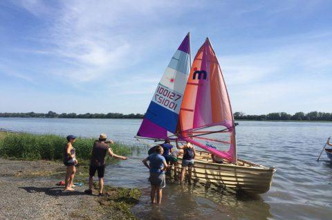 Jeunes marins urbains - Mise a l eau de La Montrealaise - Samedi - 5