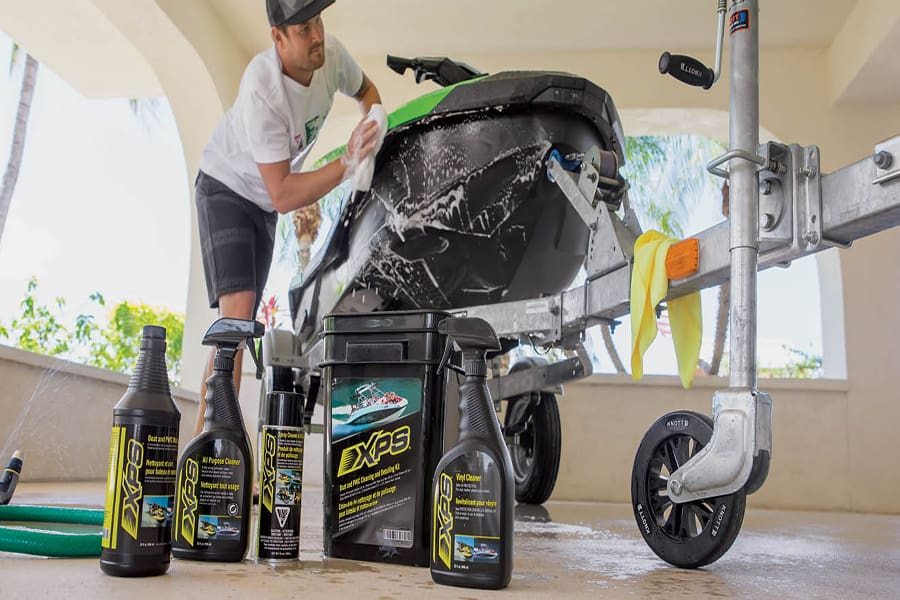 La gamme de produits XPS rend le nettoyage rapide et facile.