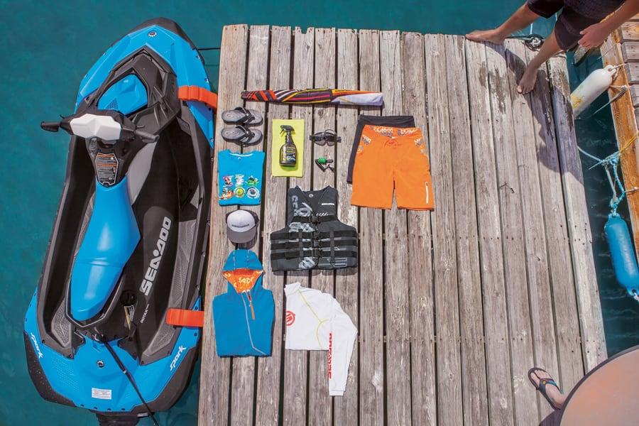Sea-Doo offre un vaste choix d'accessoires et de couleurs qui s'harmoniseront avec votre motomarine.