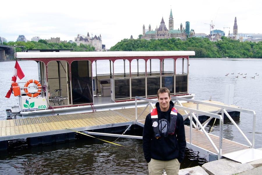 Passionnante randonn e en outaouais qu bec yachting for Exterieur quai le bouillon de l est