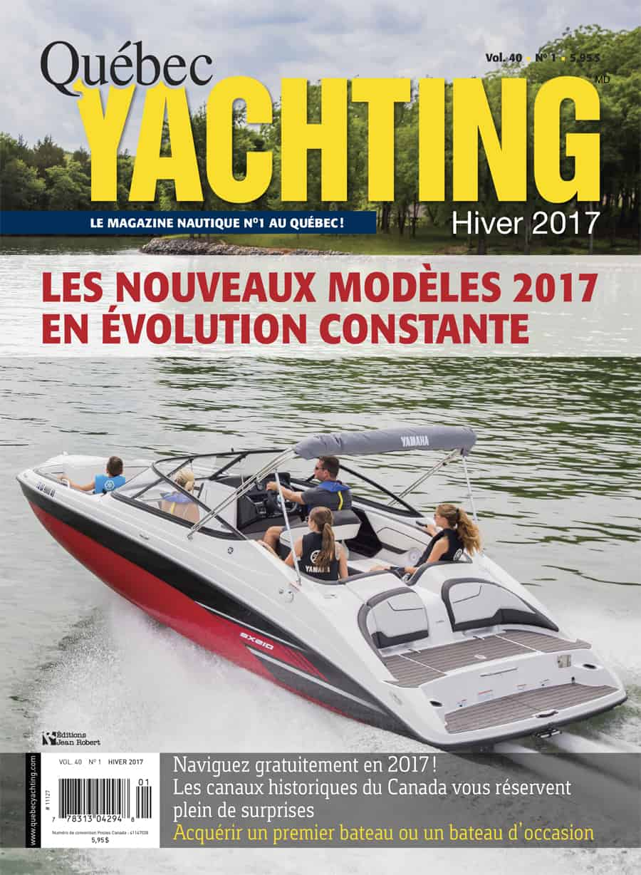 Hiver 2017 - Quebec Yachting