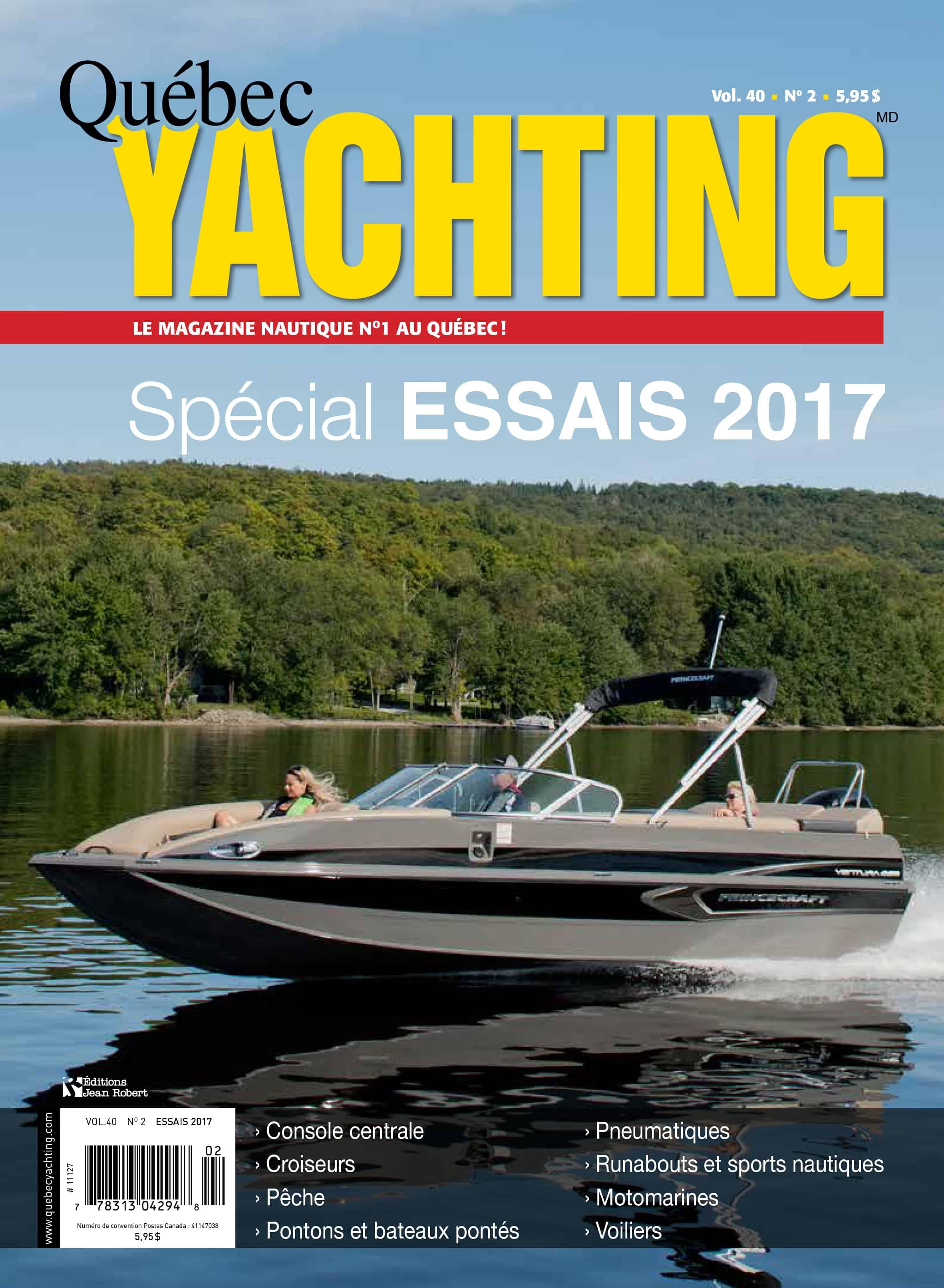 Essais 2017 - Quebec Yachting