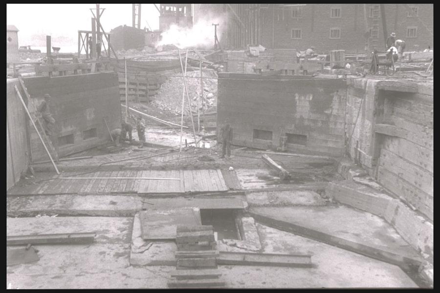 02_Construction du canal de Lachine, vers 1825_ ParcsCanada