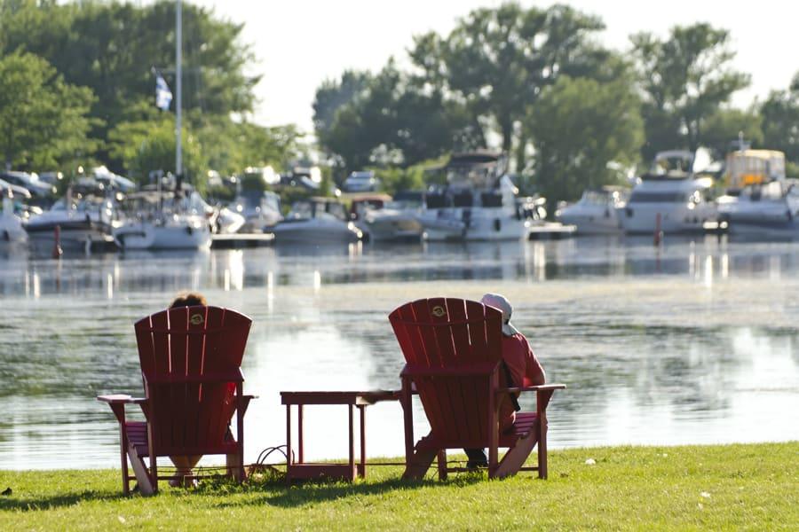 Il est temps de #SeRapprocher au canal de Lachine cet été! Crédit photo : Parcs Canada.
