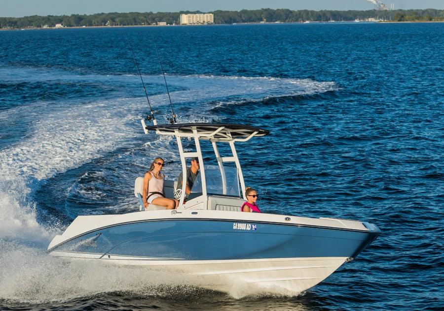 Yamaha pr sente le bateau de p che 210 fsh sport la for Yamaha fsh sport