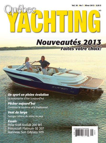 Hiver 2013 - Québec Yachting