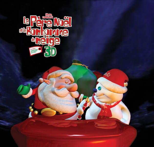 Père Noël contre bonhomme de neige