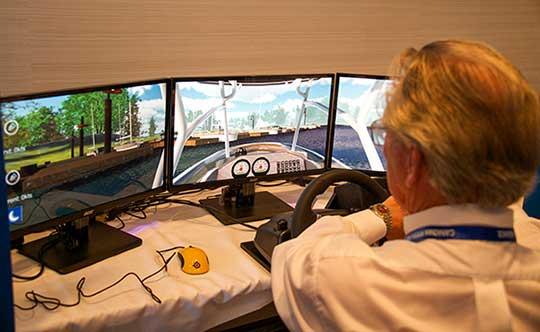 Simulateur de conduite - Escadrille canadienne de plaisance