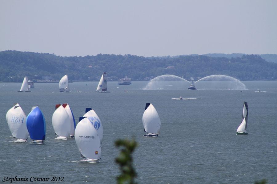 Transat Québec Saint-Malo 2012. Crédit photo : Stéphanie Cotnoir.